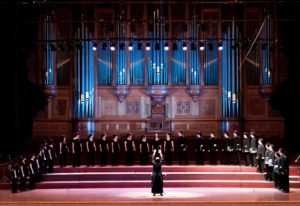 Taipei Chamber Singers in National Concert Hall of Taiwan