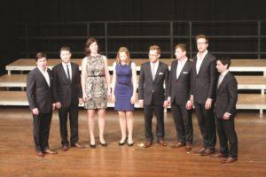 Ensemble VOCES8, Great Britain, at the internal opening concert © Musica Sacra International, Marktoberdorf