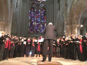Peter Broadbent conducting 'Spem in Alium' by Thomas Tallis - Virginie Meigné © Polyfollia