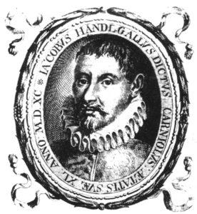 Jacobus Gallus (Jacob Handl) (1550-1591)