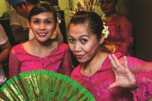 Members of Manado State University Choir