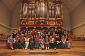 Musica Oeconomica at Universitas Cantat 2009 © Musica Oeconomica