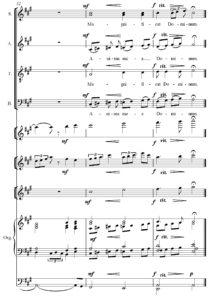Vasiliauskaitė, Magnificat, mvt. 1, Lithuanian Music