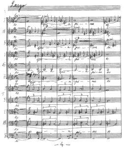 Einfelde, Lux aeterna (manuscript)