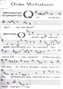 Hildegard- Ordo Virtutum