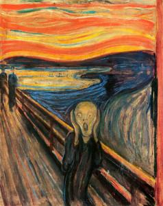The Scream by Edvard Munch, 1893