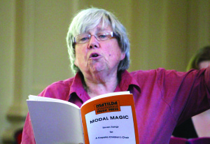 Judy Clingan workshops one of her most performed works - Modal Magic