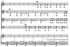 Example 12 - DiOrio, Alleluia m. 53-58