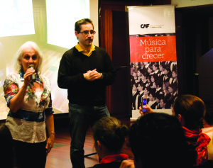 María Guinand leading El Sistema, a Venezuela's national music-education program