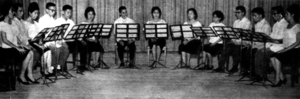 U.P. Madrigal Singers ca. 1963