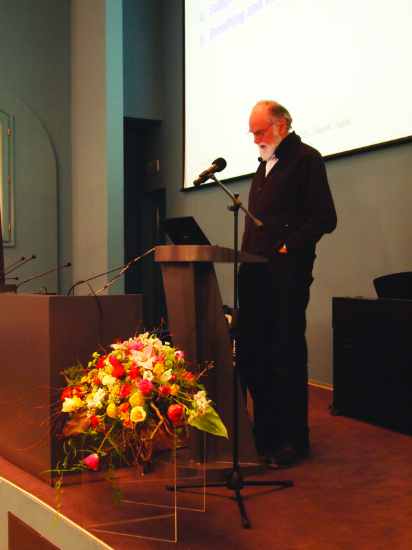 Ars Choralis 2012: a conference by Johan Sundberg