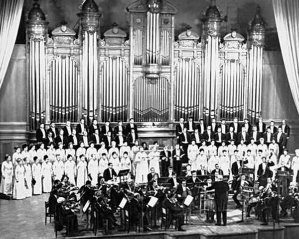 Concert of the State Academic Russian Choir of the USSR