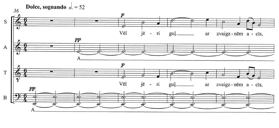 Latvian Choral Music: Vasks, Prauliņš, and Ešenvalds - The