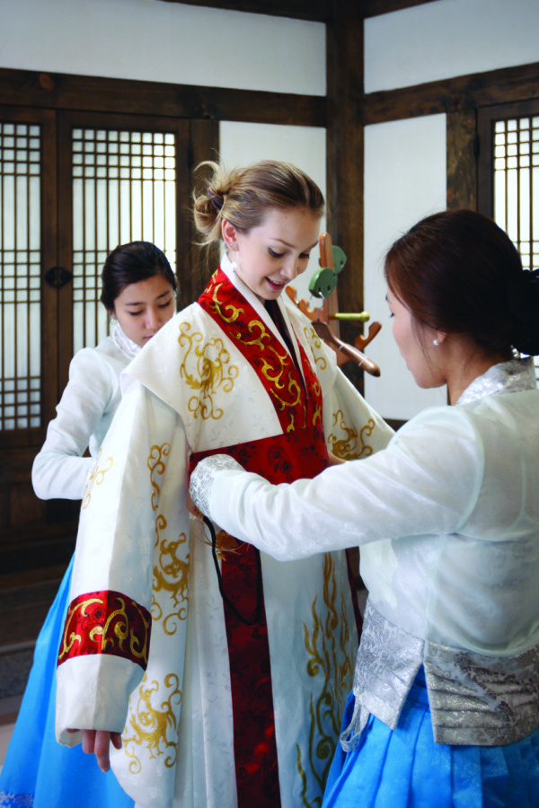 Hanbok Traditional Costume