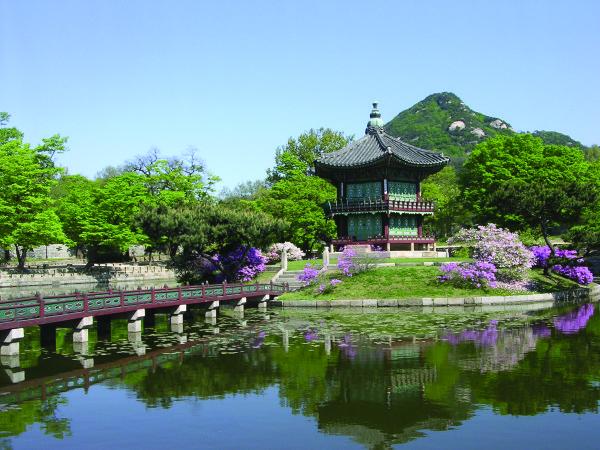 HyangWonJeong in Gyeongbokgung