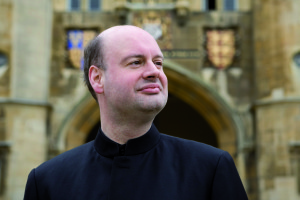 The British conductor Stephen Layton