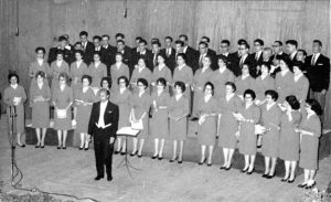 A 10th Anniversary photo of the Hamrun Choir