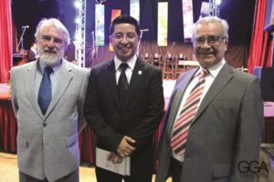 Oscar Escalada, Leonel Otero Cavarique, President of the Festival and José Antonio Rincón