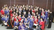 Hamilton Children's Choir and Xinghai Conservatory of Music University Girl's Choir, Yang Hongnian and Zimfira Poloz ©INTERKULTUR