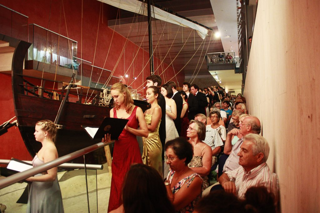WYC concert at Museum of the Sea, Ayia Napa -  Richard Dayany Martinez, Venezuela © FWYC