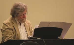 Morten Lauridsen during a masterclass in Cincinnati - ©Interkultur