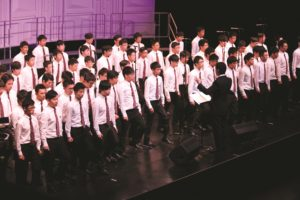 Diocesan Boys School Choir (Hong Kong) performs at the Champions Concert - © Interkultur