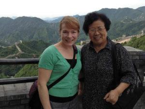 Dr. Nicole Lammartine & Professor Wu Lingfen, ICEP 2014