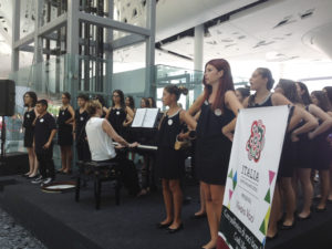 Children Choir 'Coeli Lilia', Campobasso, Italy, performing at the Expo