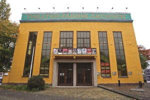 Exterior of the Theater-Fabrik-Sachsen