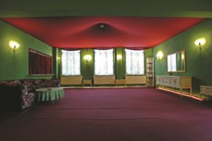 Theater-Fabrik-Sachsen foyer – reminiscent of another age