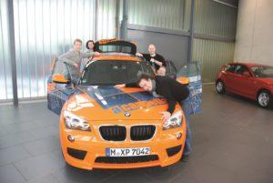 ….high-tech BMW, what else?