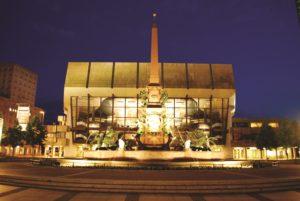 The world-renowned Gewandhaus Leipzig
