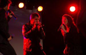 New crooners – Cap Pela in action