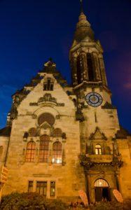 The Evangelisch-reformierte Kirche hosted Nordic Voices