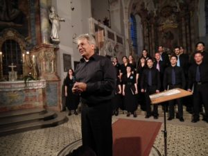 Jerusalem Academy Chamber Choir with Stanley Sperber, conductor, in the Church of St. Michael Bertoldshofen
