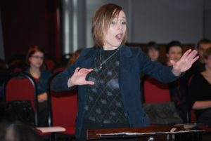 "Fifth International Choir Conducting Competition 'Towards     h Polyphony"": Izabela Polakowska, Poland, fourth priz"