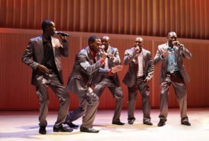 The Vocal Motion Six, from Namibia