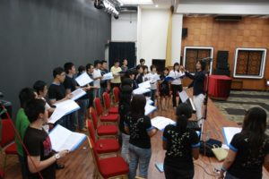 Choir clinic with choral expertise