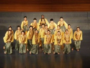 The Young Kuala Lumpur Singers performing Malaysian folk song and dance in China, July 2010