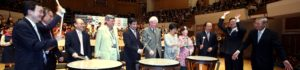 Guests of Honor announce the opening of the 2011 HKIYCCF