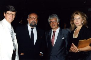 Saltzman, Penderecki, Rilling and Mrs. Penderecki