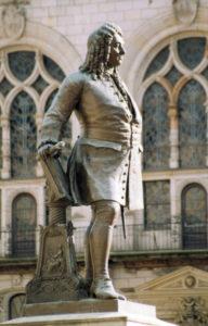 Handel Statue in Halle