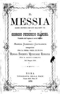 Program booklet dated 5 May 1876