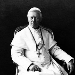 Pio X, the Pope who issued the Motu Proprio
