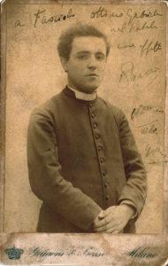 A young Lorenzo Perosi