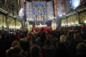 The final concert at the Mariacki Church
