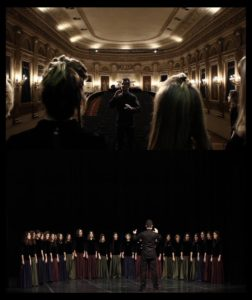 Choir VociInNote conducted by Dario Piumatti (Teatro Gobetti, Torino)