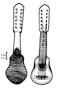 Charango made of armadillo