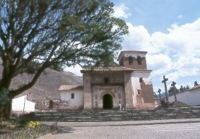 The little chapel of San Pedro de Andahuailillas