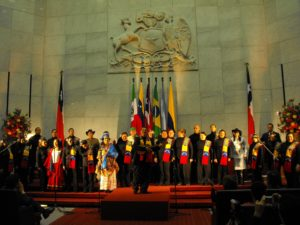 Coral Juventudes Culturales de la Universidad Central de Caracas conducted by Luis Eduardo Galián, Venezuela